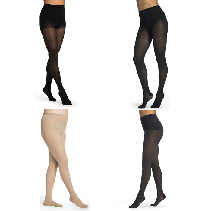 Sigvaris Women Midsheer Compression Pantyhose 20-30 mmHg, Small