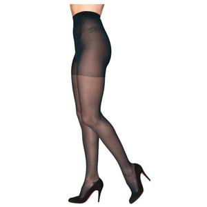 Sigvaris EverSheer Women's Compression Pantyhose Small Short, 15 to 20 mmHg Black