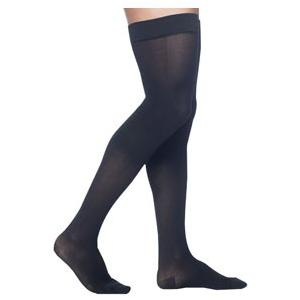Sigvaris Midtown Microfiber Men's Thigh-High Compression Stockings, Small Short, 30-40 mmHg