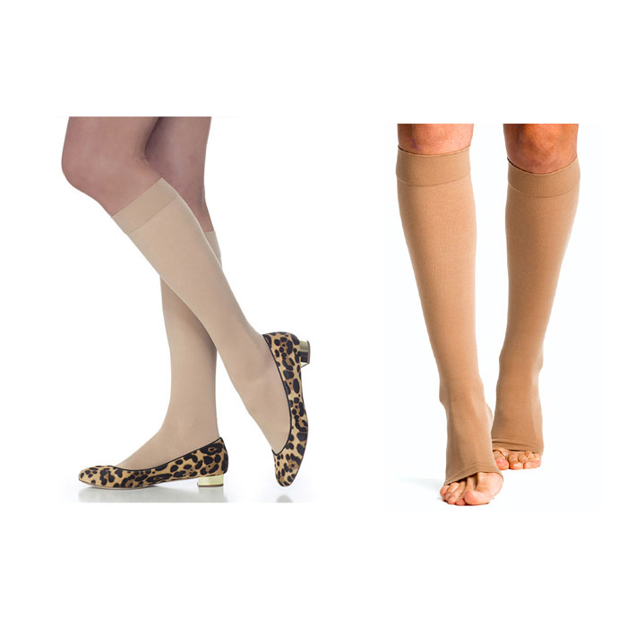 Sigvaris Select Comfort Calf High Plus, Compression Socks 20-30 mmHg, Medium, Crispa