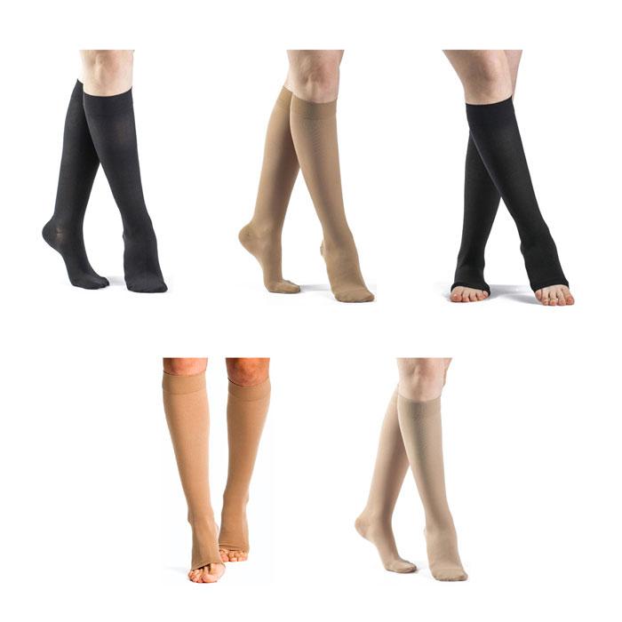 Sigvaris Select Comfort Calf High Compression Socks 20-30 mmHg, Extra-Large-Short