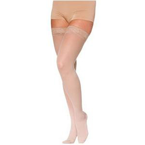 Sigvaris Select Comfort Women's Thigh-High Compression Stockings, Large Long, 20-30 mmHg