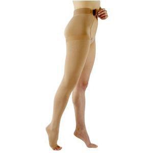 Sigvaris Select Comfort Waist Compression Stockings 20-30 mmHg, Open Toe, Medium