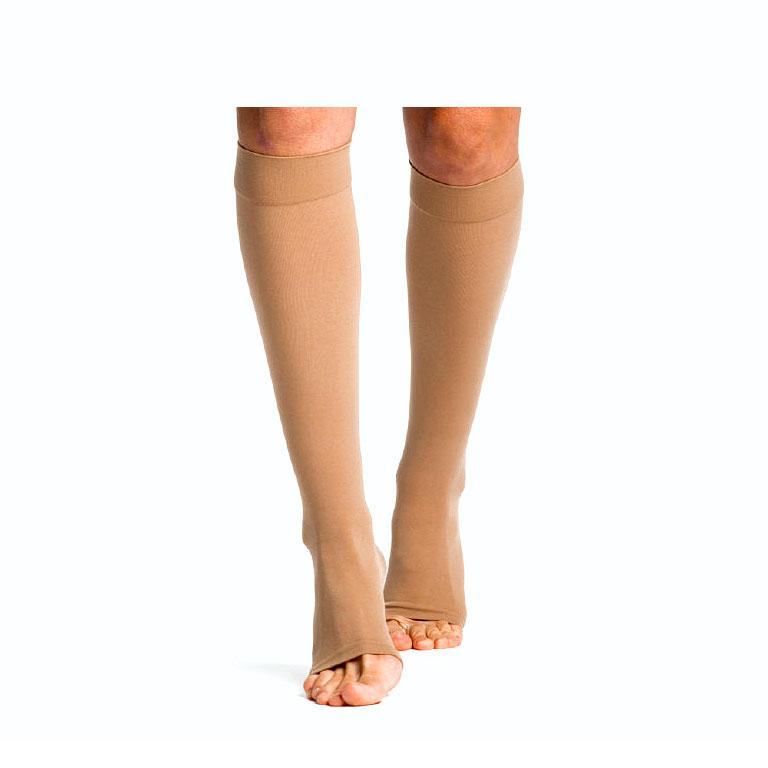 Sigvaris Select Comfort Calf-High Compression Socks, w/Grip Top Large Short, 30-40 mmHg