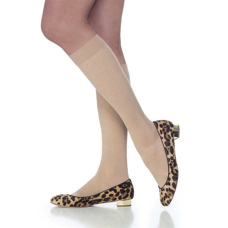 Sigvaris Select Comfort Women's Calf-High Compression Socks, Medium Long, 30-40 mmHg
