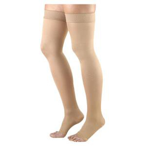 Sigvaris Select Comfort Women's Thigh-High Compression Stockings, Small Long, 30 to 40 mmHg