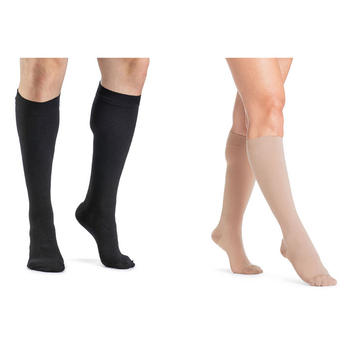 Sigvaris Access Mens Calf High Compression Socks 15-20 mmHg, Small