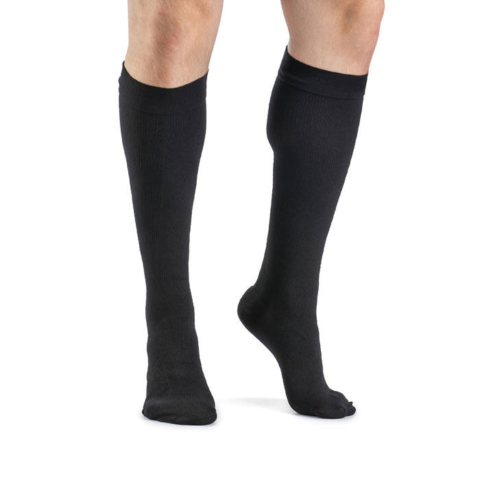 Sigvaris Access Men's Knee High Compression Socks Medium Short, 30-40 mmHg