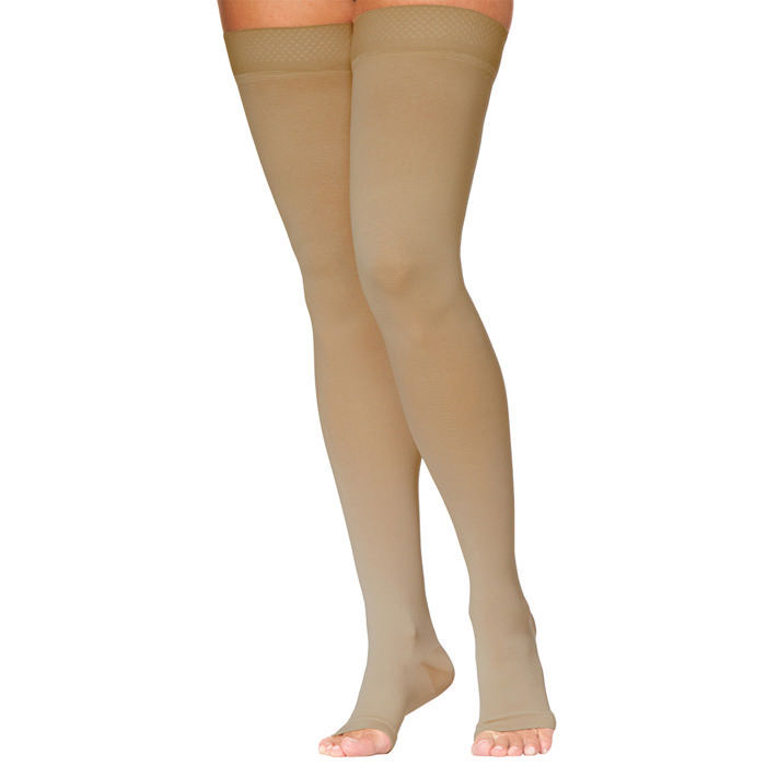 Sigvaris Access Unisex Thigh High Compression Stockings 20-30 mmHg, Large
