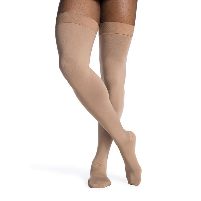 Sigvaris Access Thigh High Compression Stockings 20-30 mmHg, Large-Short