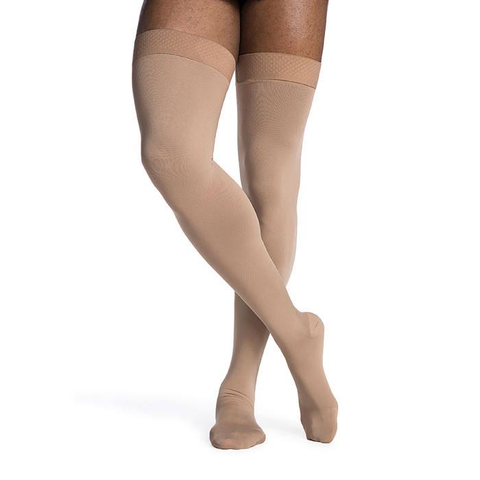Sigvaris Access Thigh High Compression Stockings 20-30 mmHg, Medium-Short