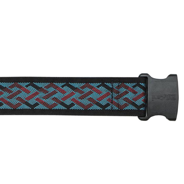 """Skil-care 60"""" nylon geo pattern B, derlin buckle gait belt"""