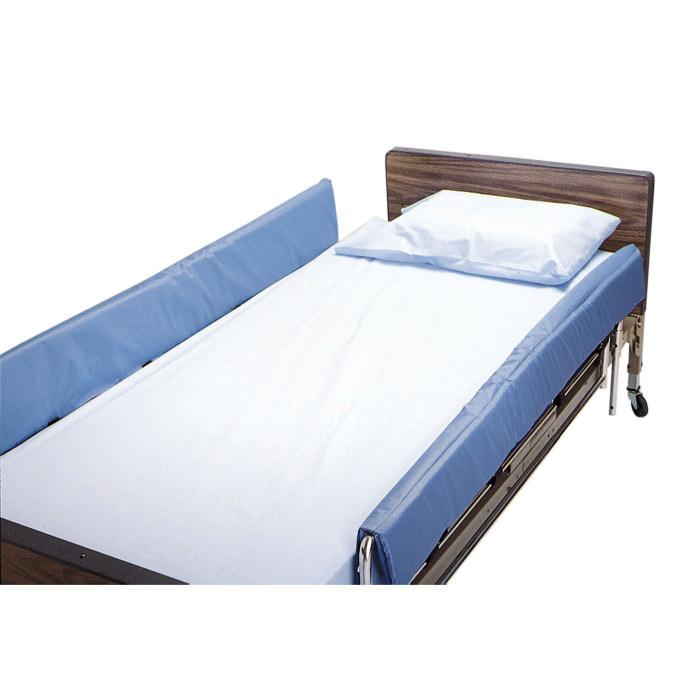 "Skil-care cushion top vinyl bed rail pads, 72"" L x 16"" H x 4"""