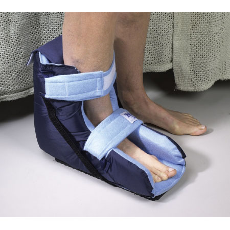 Skil-Care Heel Protector Boot Large/Bariatric Blue