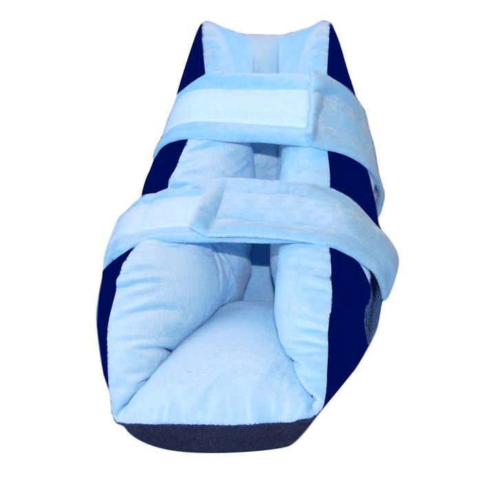 Skil-care super soft blue boot heel protector