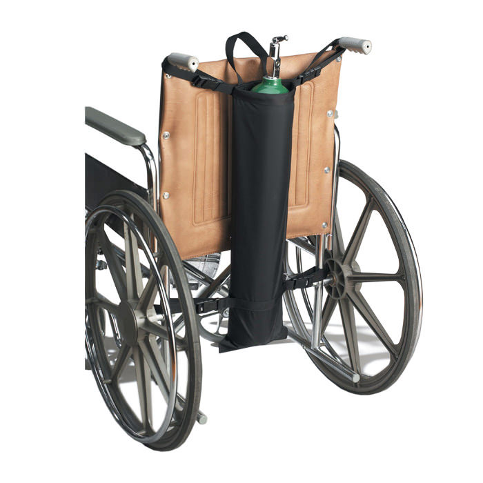 Skil-care single tank oxygen cylinder holder