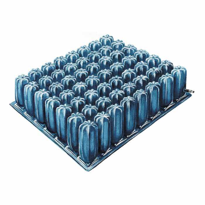 """Skil-care low Shear air cushion, 16"""" D x 18"""" W x 2"""" H"""