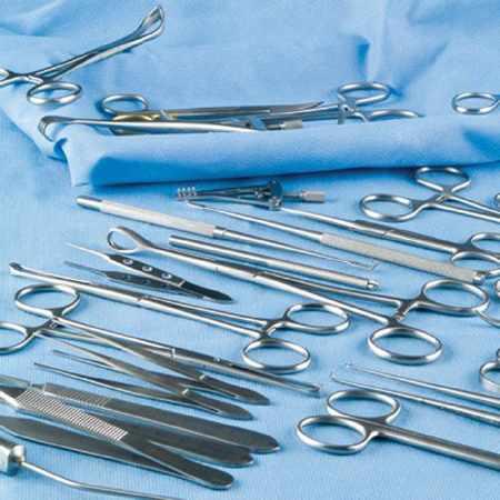 Sklar NonSterile Stainless Steel Straight Dissecting Scissors, 9 Inch