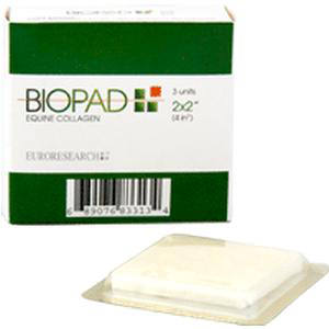 "Skinsafe biopad collagen dressing 2"" x 2"""