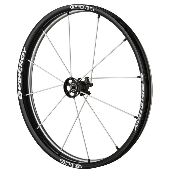 "Spinergy light extreme ""XLX"", X-laced wheels with flexrims"