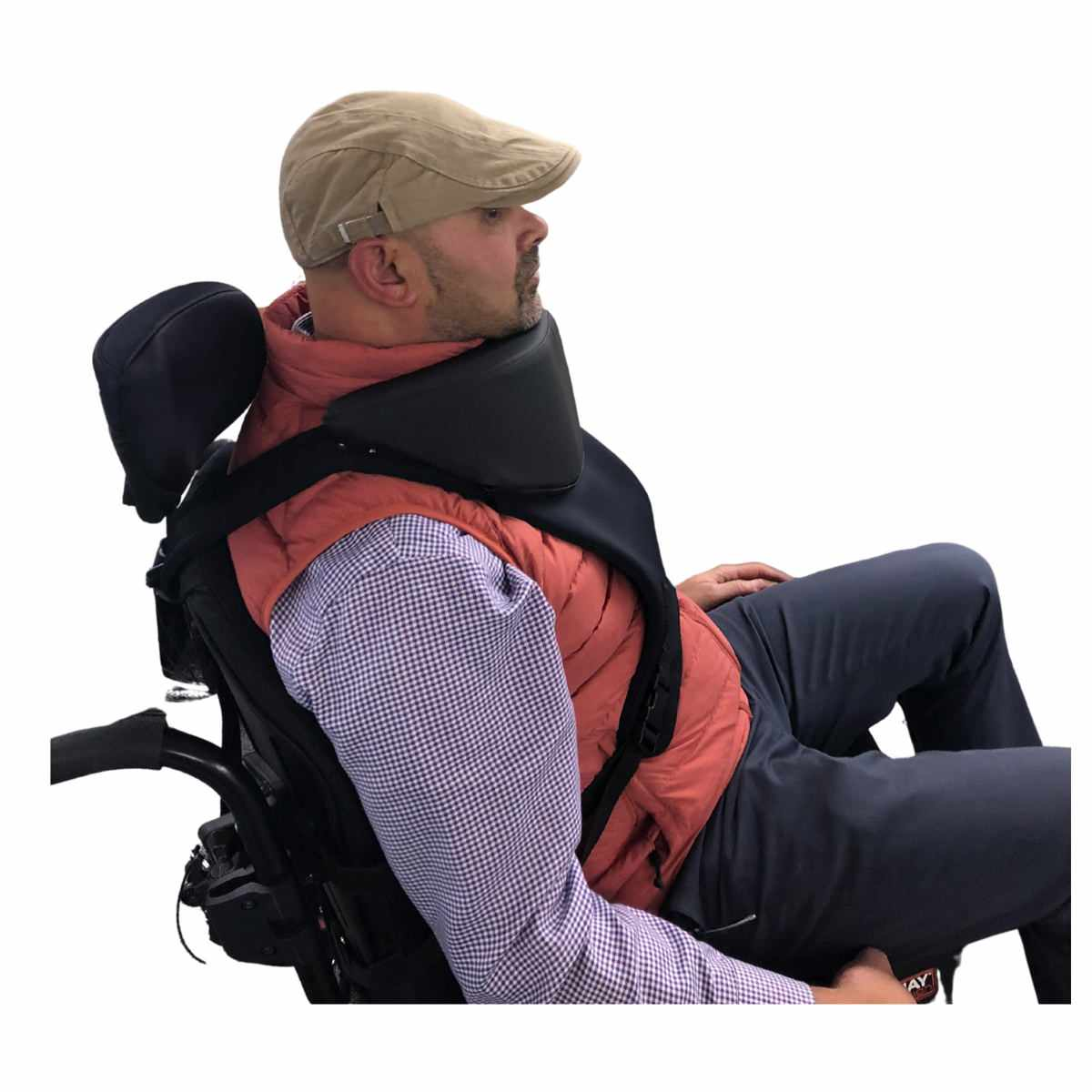 MES Head Support with trunk harness
