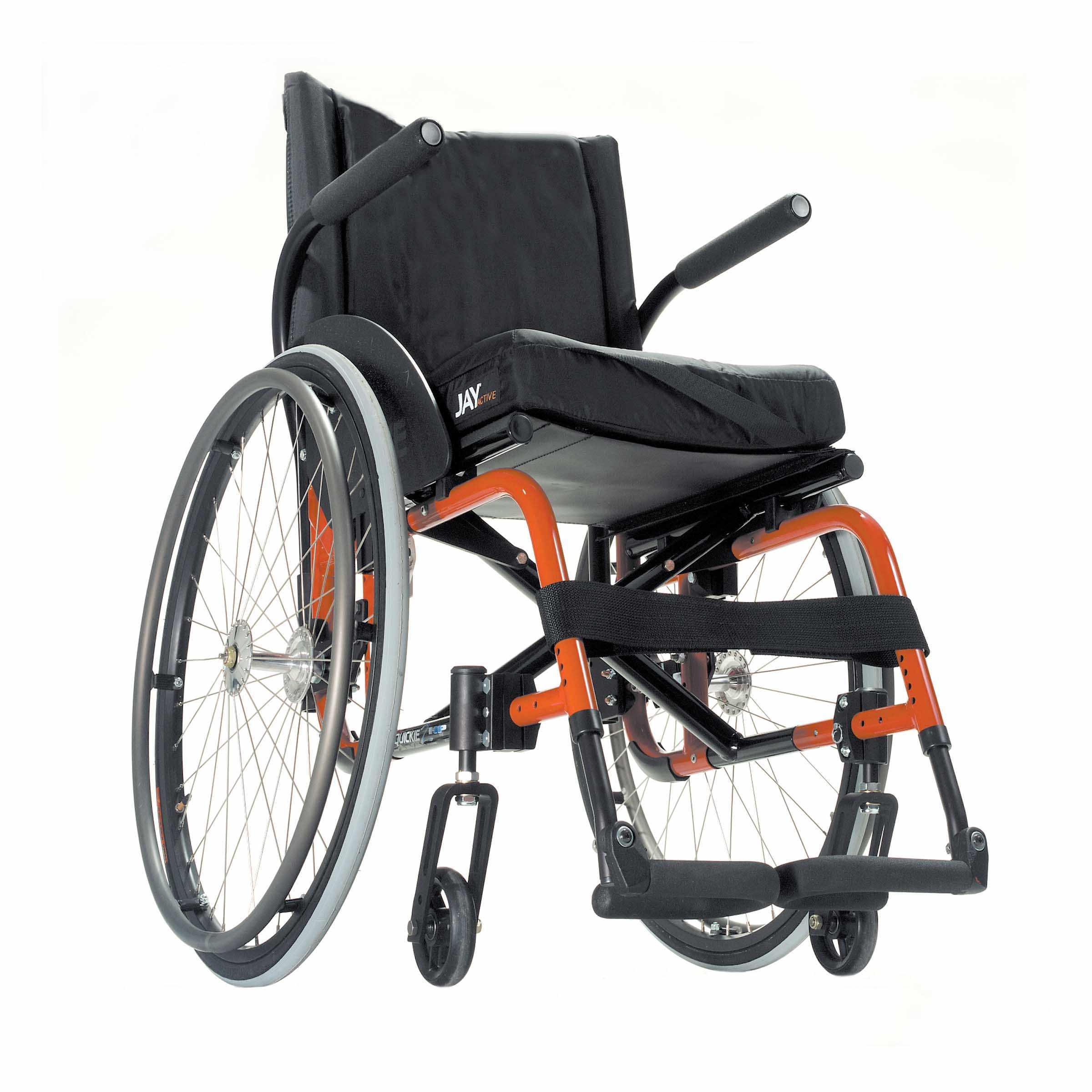Quickie 2HP folding ultra lightweight wheelchair