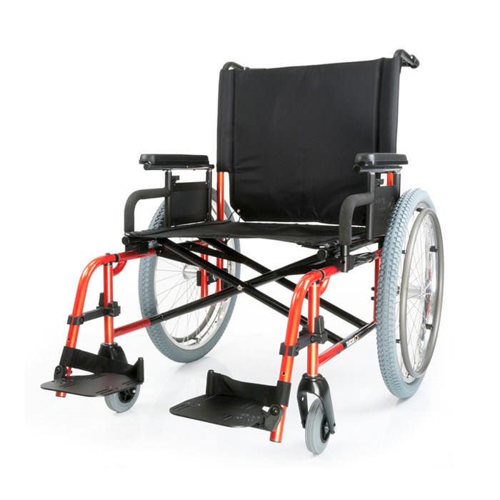 Quickie M6 heavy-duty folding wheelchair