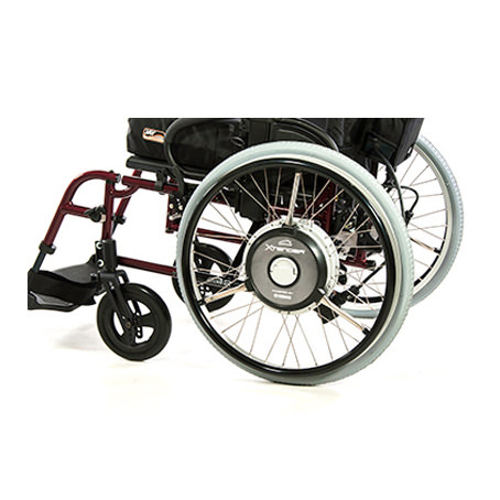 Xtender wheelchair power assist system