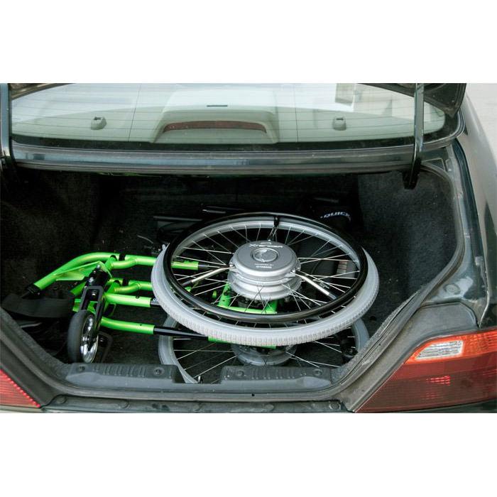 Xtender stored in car