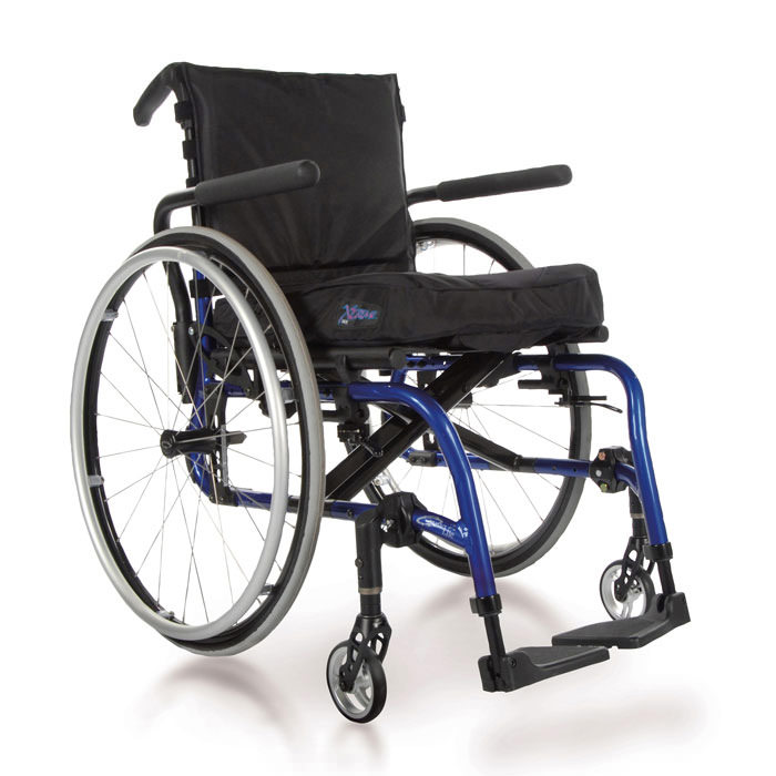 Quickie 2 lite folding lightweight wheelchair