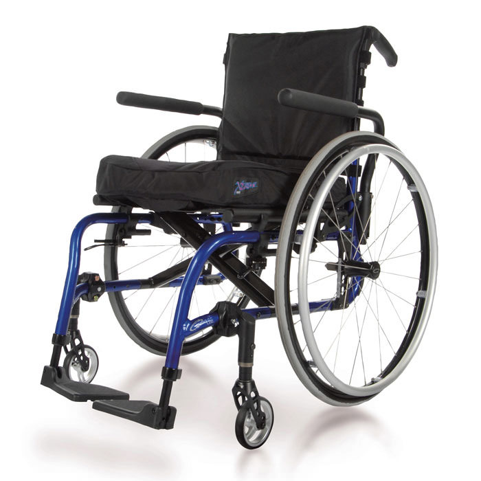 Quickie 2 lite folding wheelchair