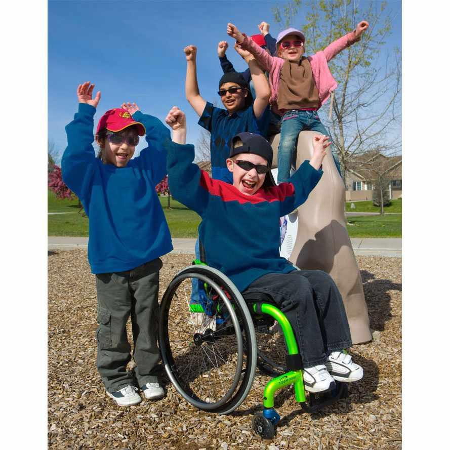 Zippie zone wheelchair