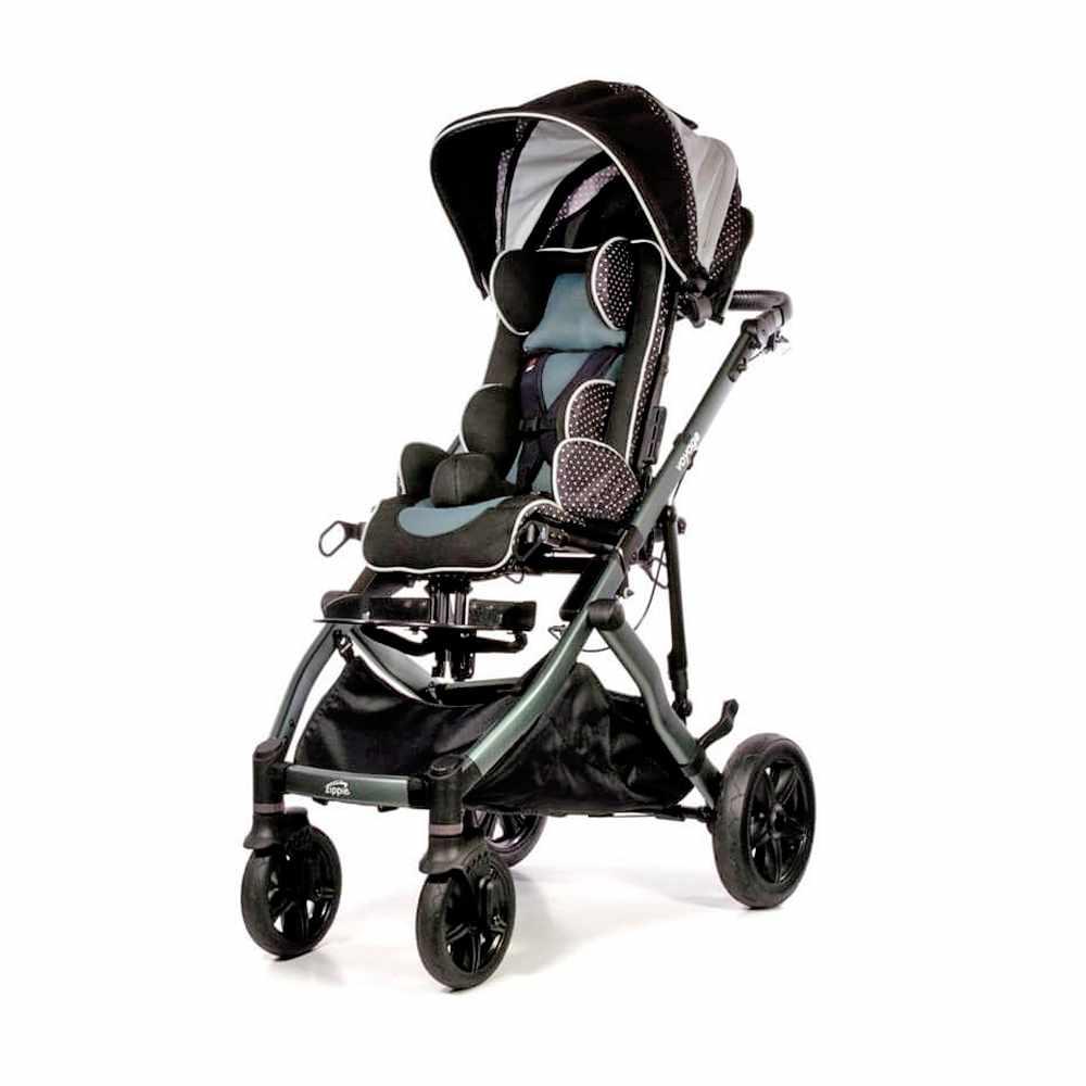 Zippie Voyage tilt stroller with moderate seating