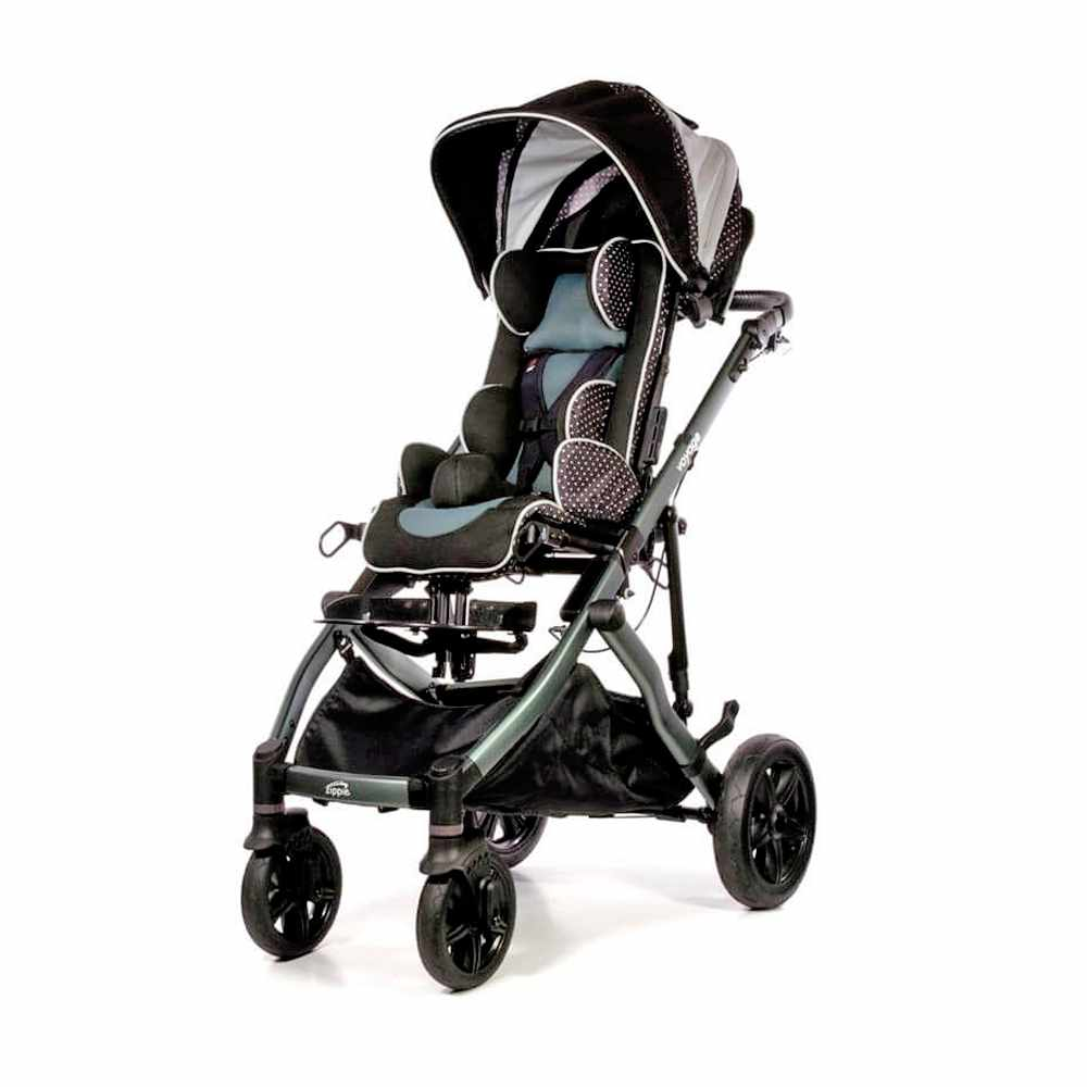 Zippie Voyage tilt stroller with moderate seating