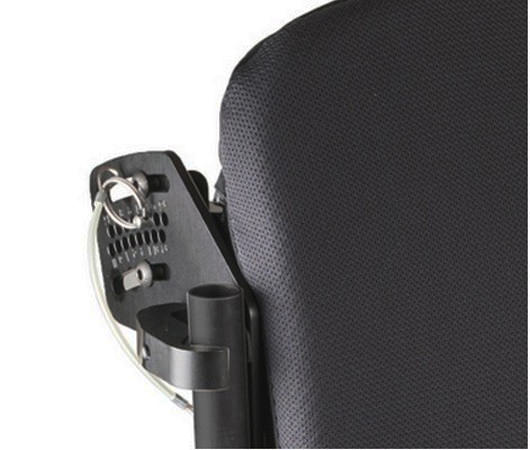 Jay J2 plus back adjustability features