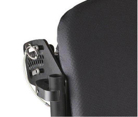 Jay J2 plus back adjustability features