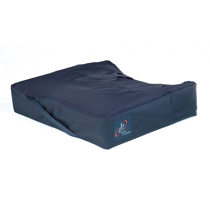 J2 deep contour cushion with solid drop seat