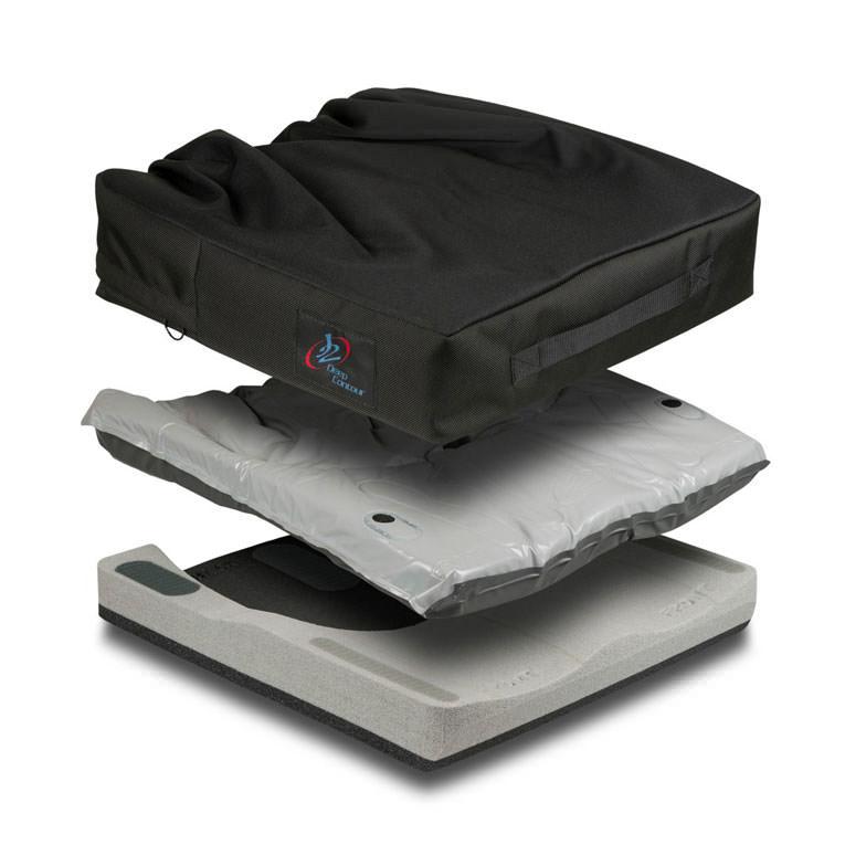 J2 deep contour, base pad, cover