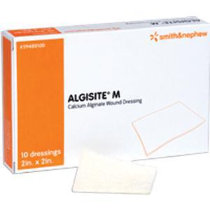 """Algisite M Calcium Alginate Dressing, 4"""" x 4"""""""
