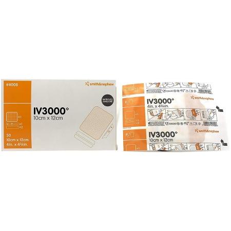 """Opsite IV3000 Catheter Dressing, 2-3/8"""" x 2-3/4"""""""