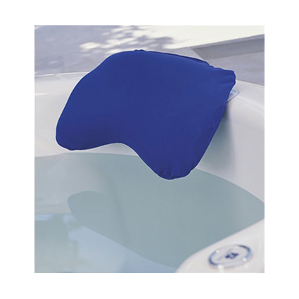 Supracor stimulite bath pillow with blue cover