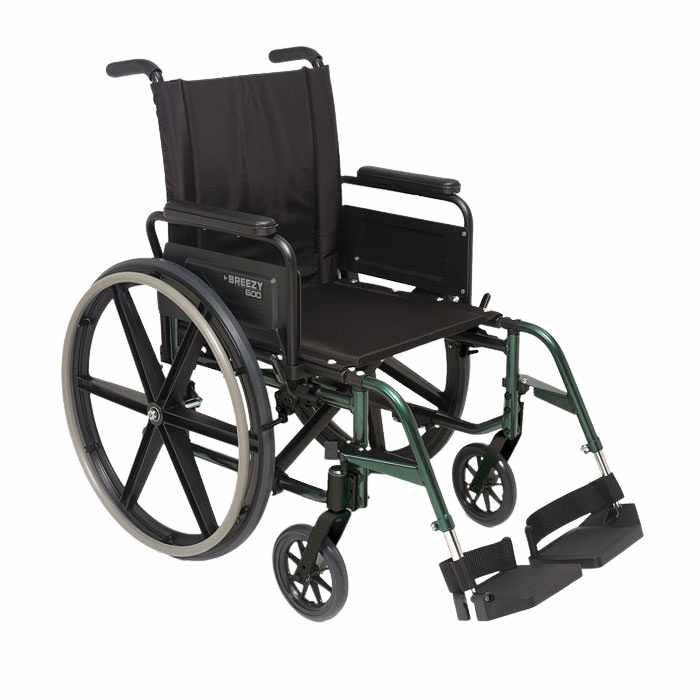 Breezy 600 Folding Lightweight Wheelchair