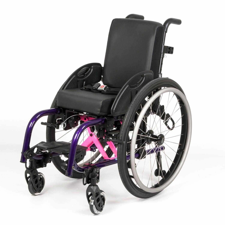 X'Cape pediatric folding wheelchair