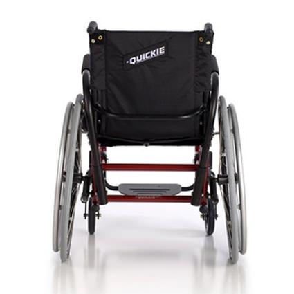 Quickie GP/GPV wheelchairs back view