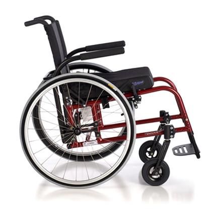GP/GPV ultralight wheelchair side view