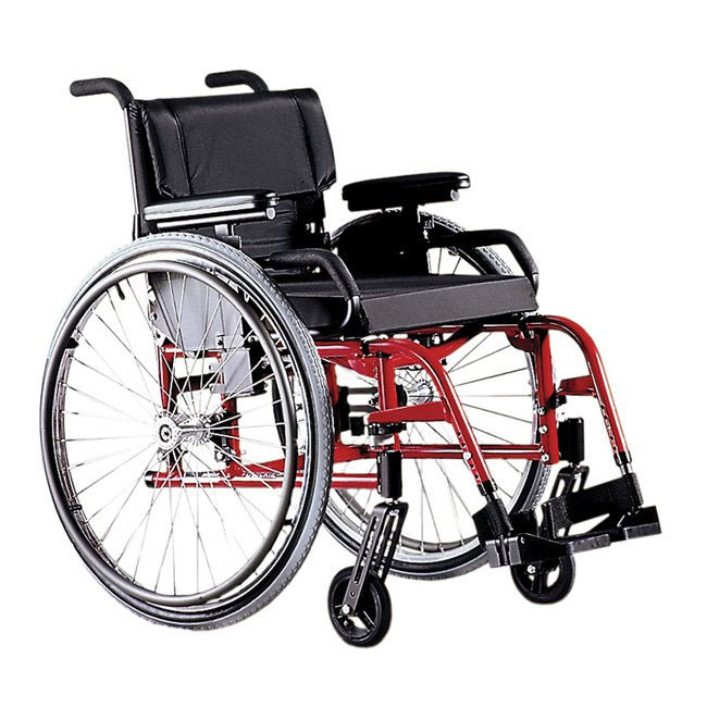 Quickie GP swing-away ultralight manual wheelchair