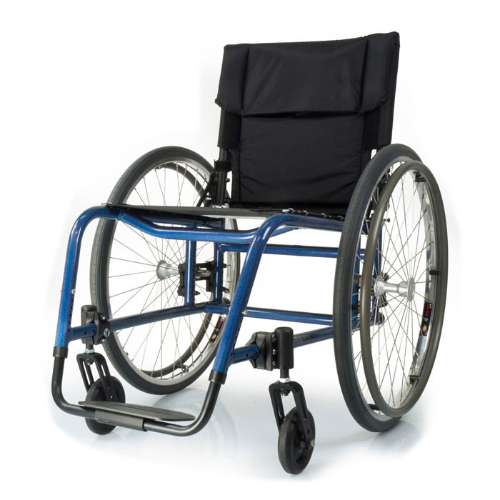 Quickie GP swing-away ultralight wheelchair