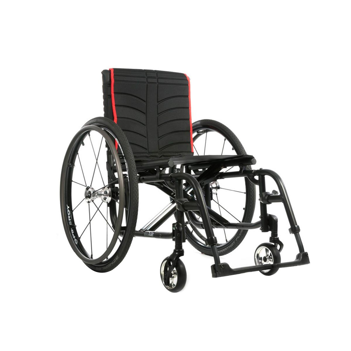 Quickie 2 folding ultra lightweight wheelchair