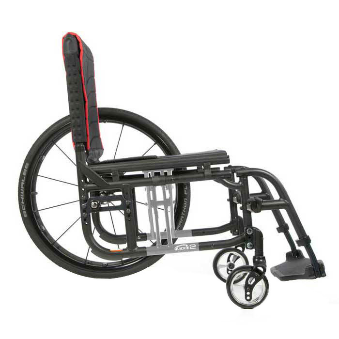 Quickie 2 folding wheelchair frame