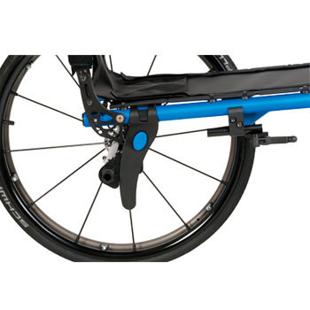 5R rigid ultralight wheelchair axle plate